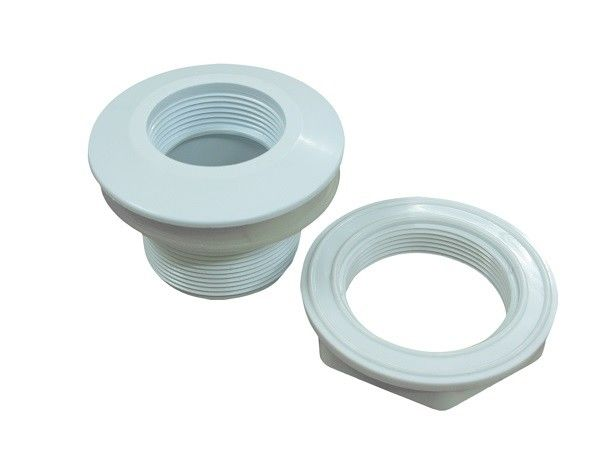 Spa Hydro PVC Adaptor Fittings , Polished PVC Pipe Connector Jetted Tub Parts Replacement