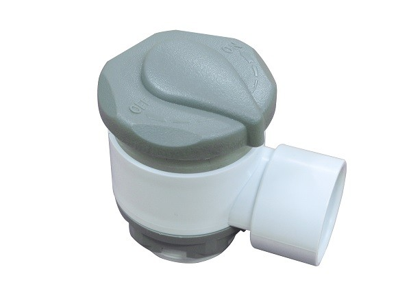 Air Control T - Adapter / Hot Tub Valves Air Rotating Nozzle​ 1 inch